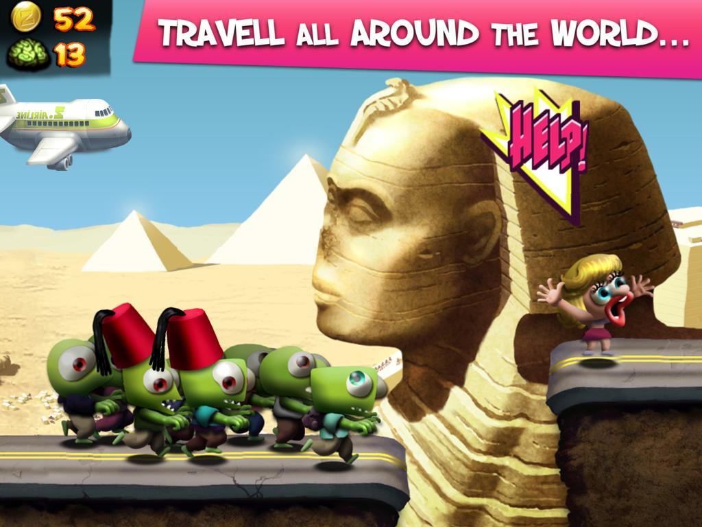 Screenshot Zombie Tsunami APK
