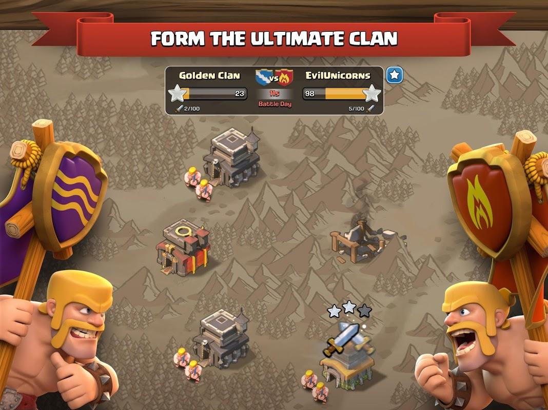 Screenshot Clash of Clans APK