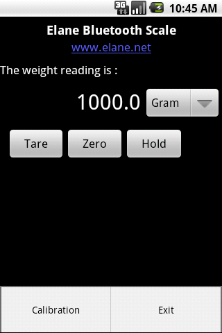 Screenshot Android Scale APK