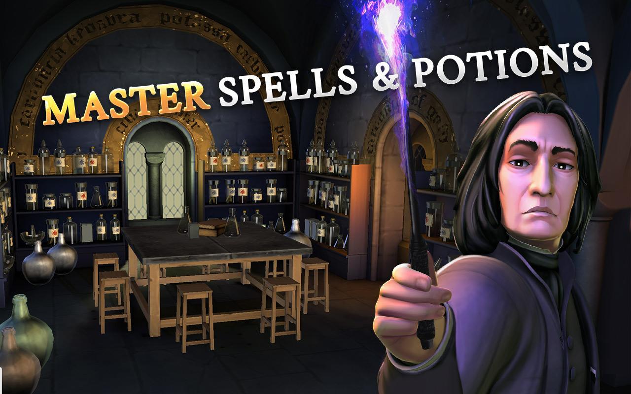 Screenshot Harry Potter: Hogwarts Mystery APK