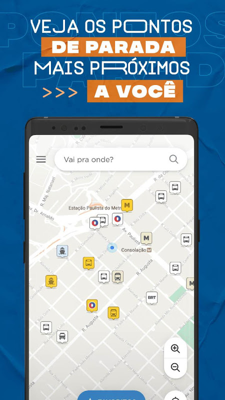 CittaMobi - Linhas e previsão de chegada de ônibus The App Store android Code Lads