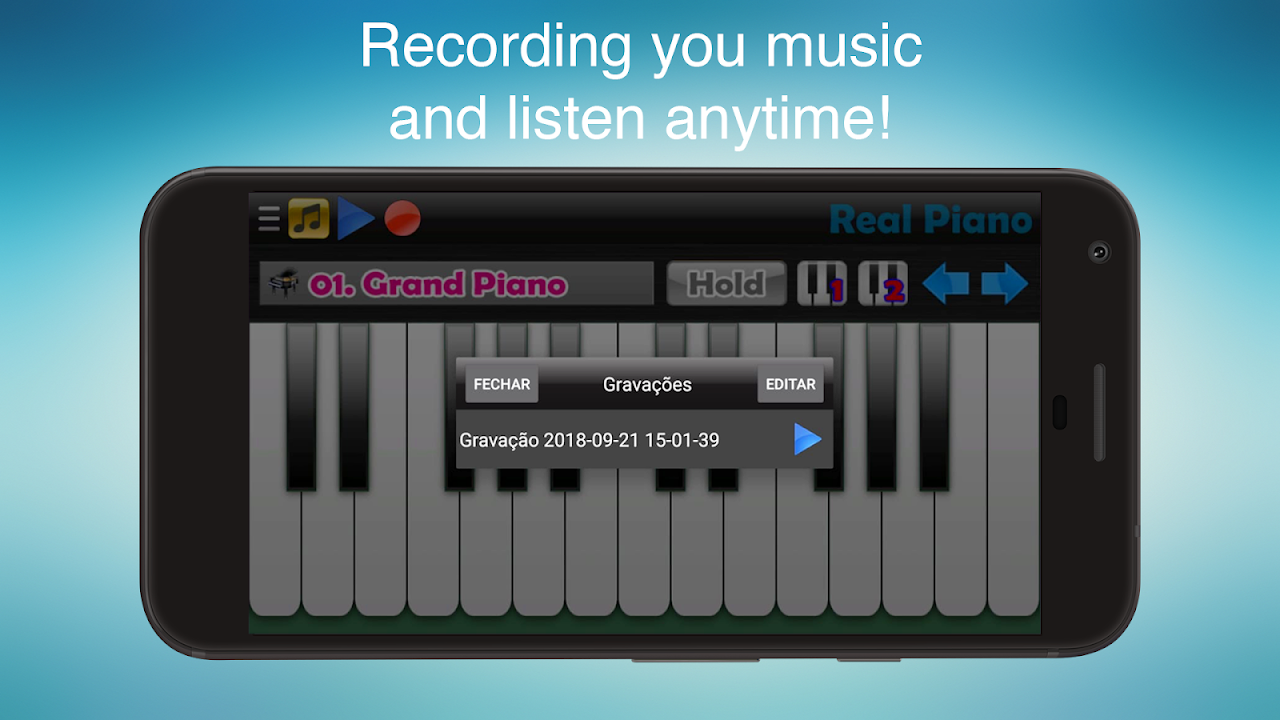 Real Piano - The Best Piano Simulator The App Store android Code Lads