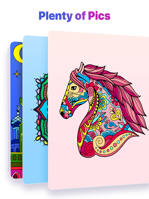 Screenshot Color by Number – New Coloring Book APK