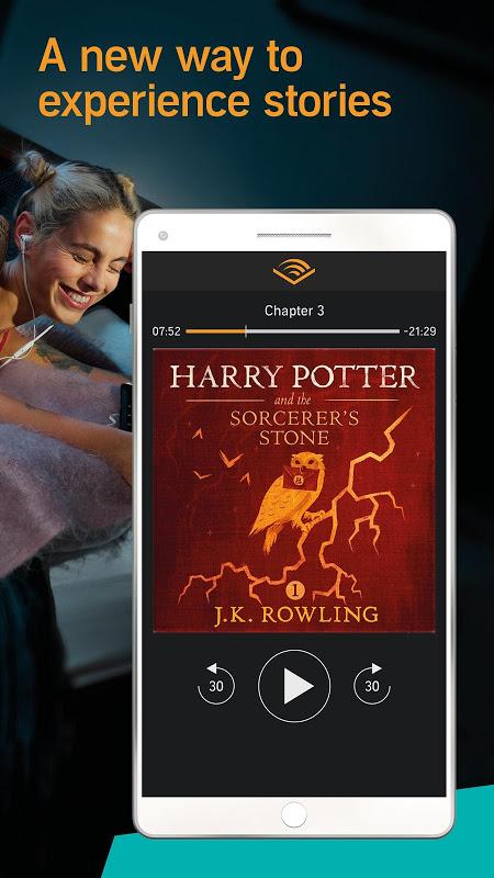 Screenshot Audiobooks from Audible APK