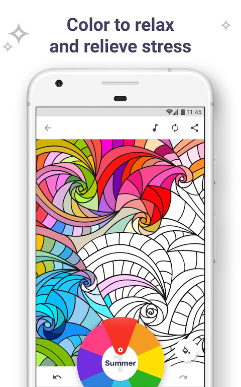 Screenshot Colouring Book for me & Mandala APK