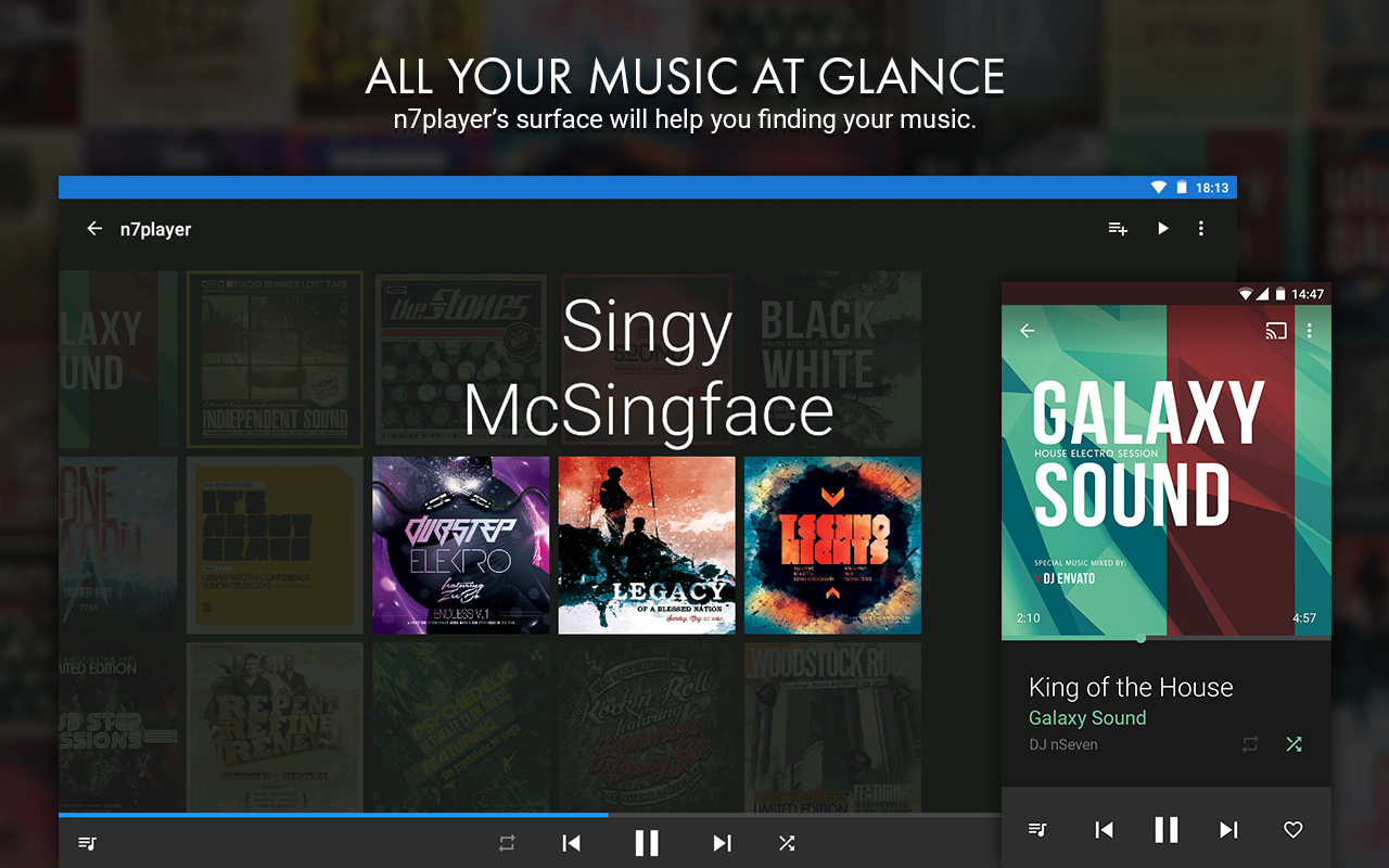 n7player Music Player The App Store android Code Lads