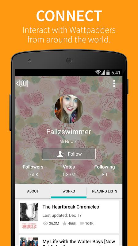 Screenshot Wattpad APK