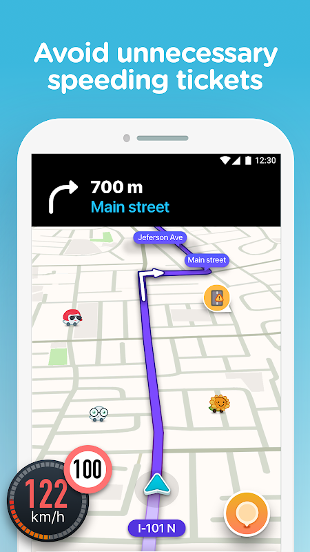 Waze - GPS, Maps, Traffic Alerts & Live Navigation The App Store android Code Lads