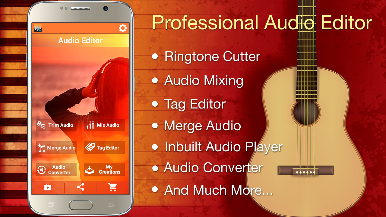 Audio MP3 Cutter Mix Converter and Ringtone Maker The App Store