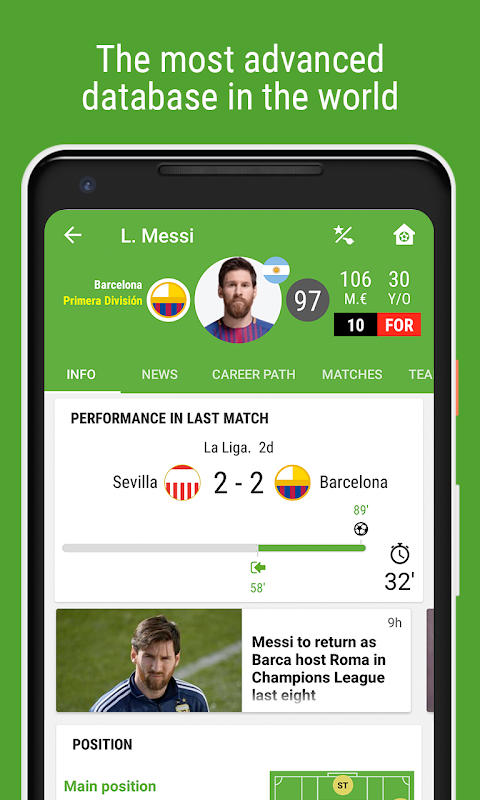 BeSoccer - Football Live Score The App Store android Code Lads