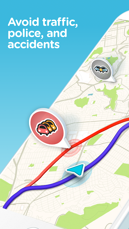 Waze - GPS, Maps, Traffic Alerts & Live Navigation The App Store