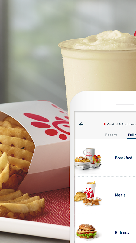 Chick-fil-A The App Store android Code Lads