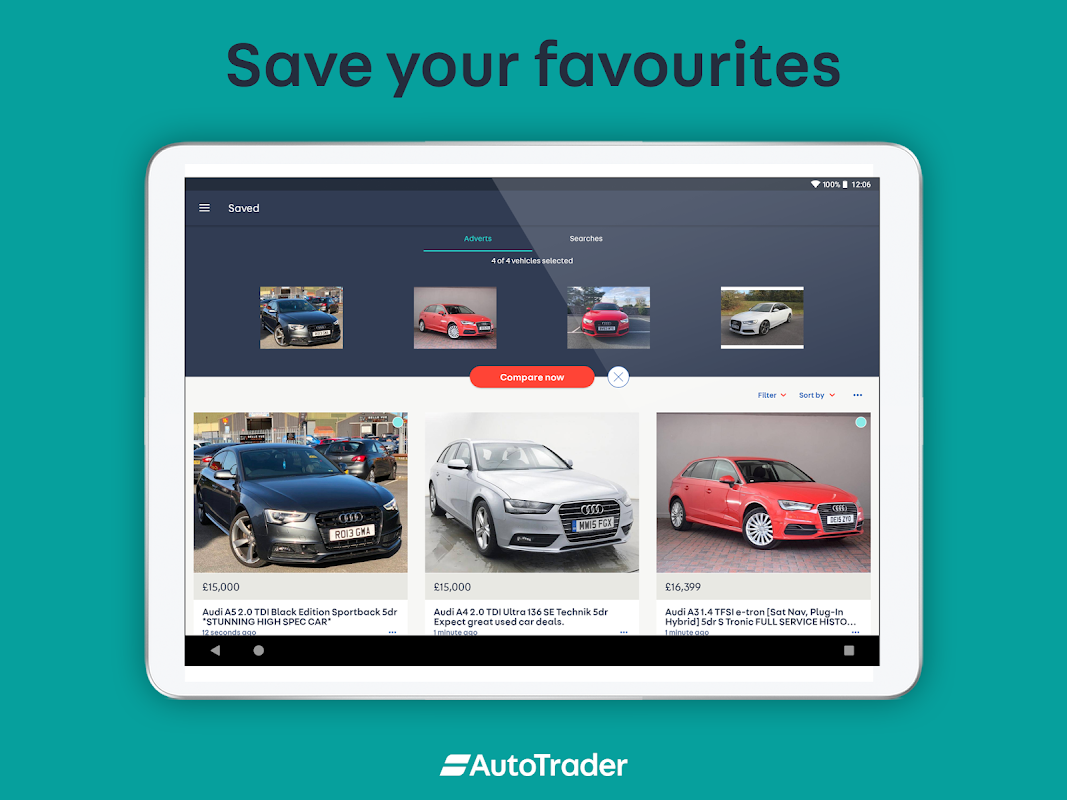 Screenshot Auto Trader - Buy, sell and value new & used cars APK
