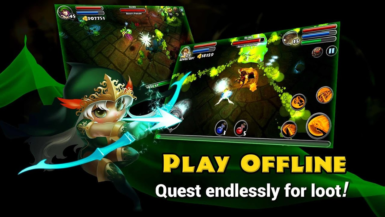 Dungeon Quest The App Store android Code Lads