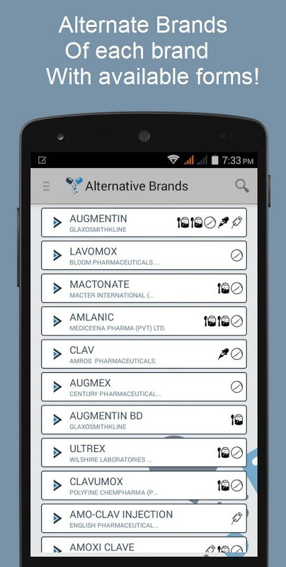 Screenshot Pharmapedia Pakistan APK