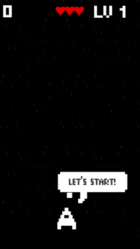 Screenshot Fire In Space Atari Game for Android APK