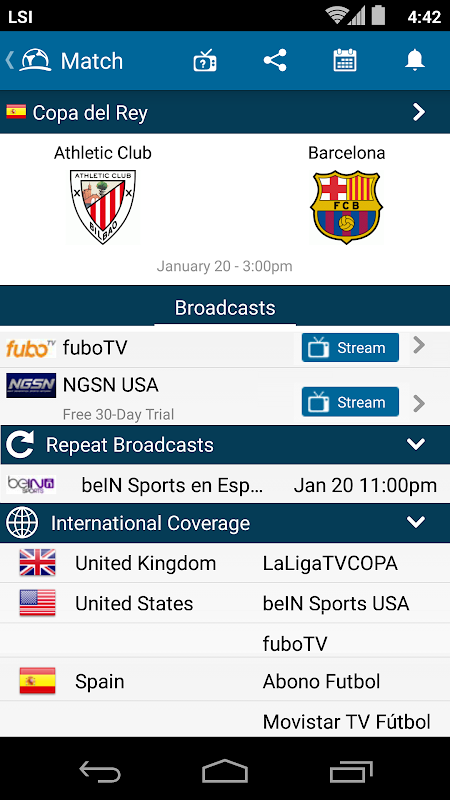 LiveFootballTV - Scores, Stats & TV Streaming Info The App Store android Code Lads