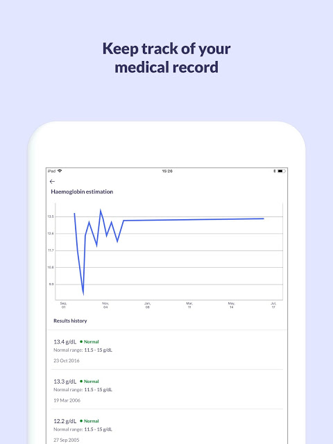 Screenshot Patient Access APK