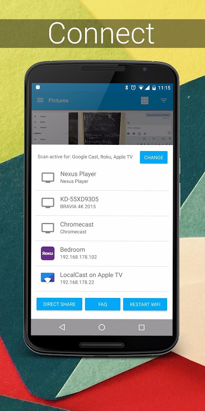 Screenshot LocalCast for Chromecast APK