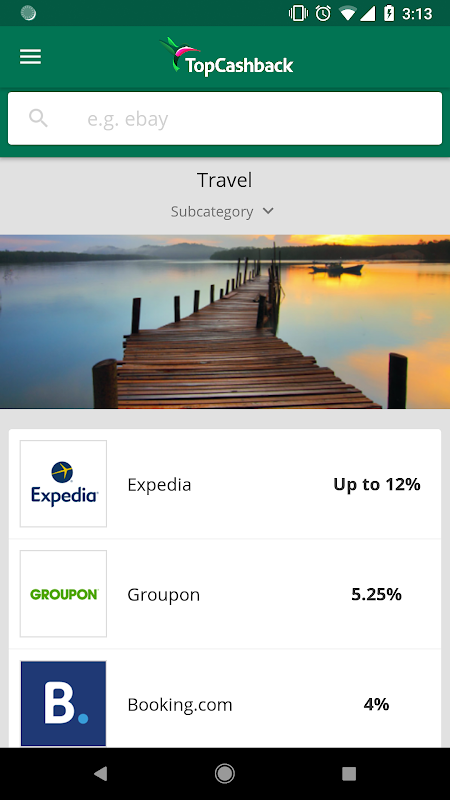 Screenshot TopCashback: Cashback & Offers APK