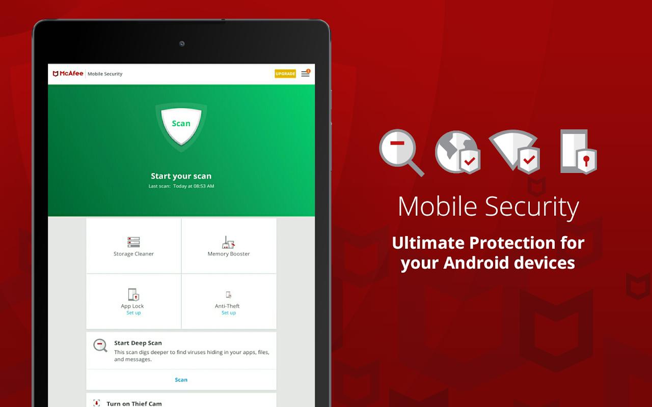 Screenshot McAfee Mobile Security APK