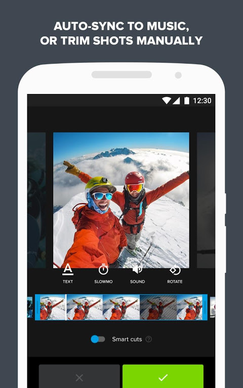 Quik – Free Video Editor for photos, clips, music The App Store android Code Lads