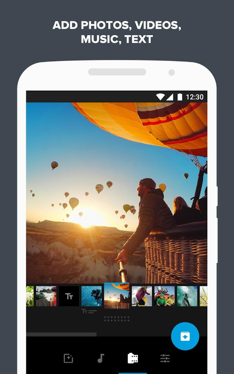 Quik – Free Video Editor for photos, clips, music The App Store