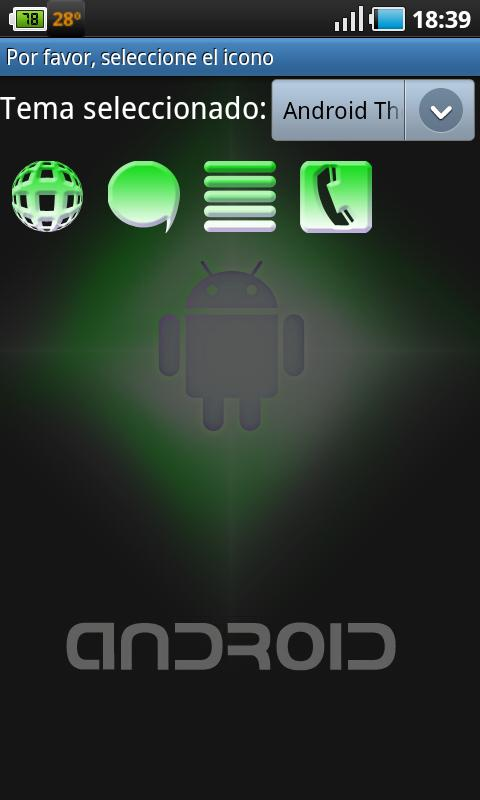 Screenshot Android Theme APK
