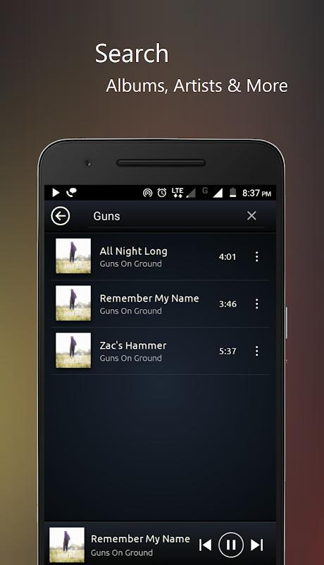 Screenshot PowerAudio Pro Music Player APK