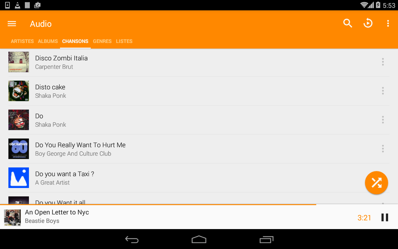 Screenshot VLC for Android APK