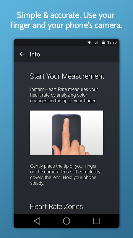 Instant Heart Rate+ : Heart Rate & Pulse Monitor The App Store android Code Lads