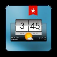 3D Flip Clock & Weather Pro
