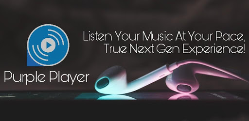 Purple Player Pro: Music Player - Mp3 Player