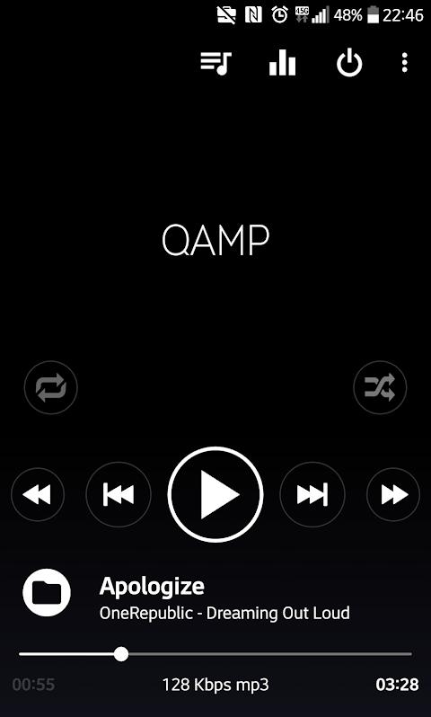 Screenshot Mp3 player - Qamp APK