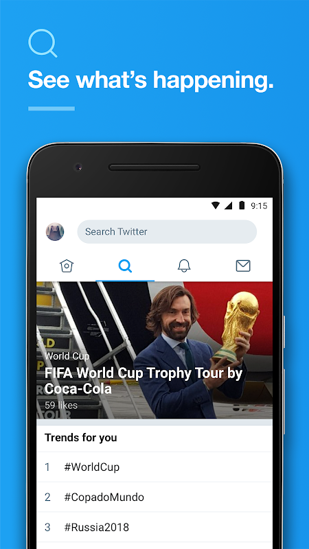 Screenshot Twitter APK