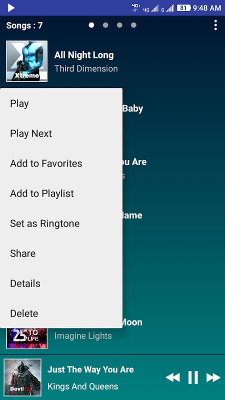 Screenshot PowerAudio Premium Full Version APK