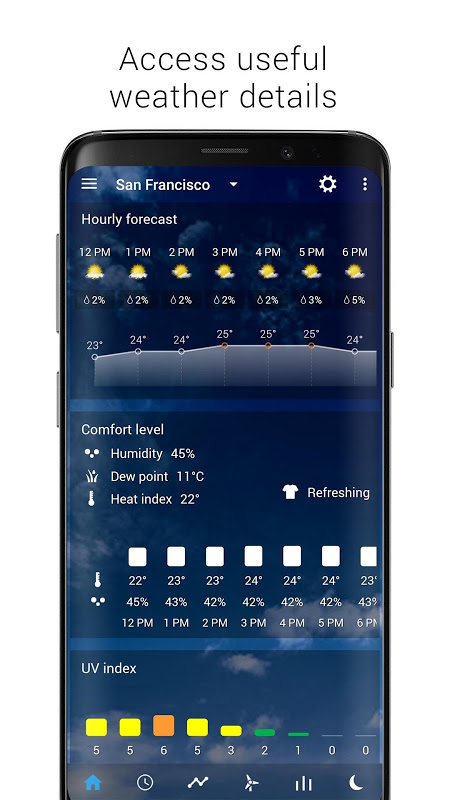 Transparent clock weather (Ad-free) The App Store