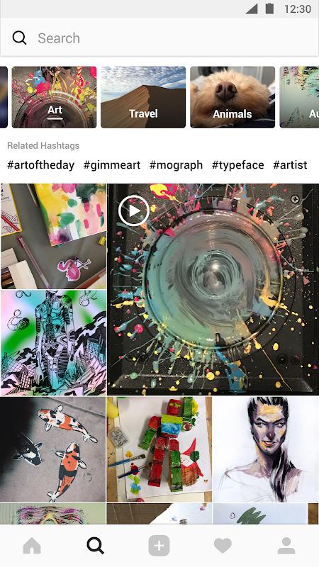 Screenshot Instagram APK