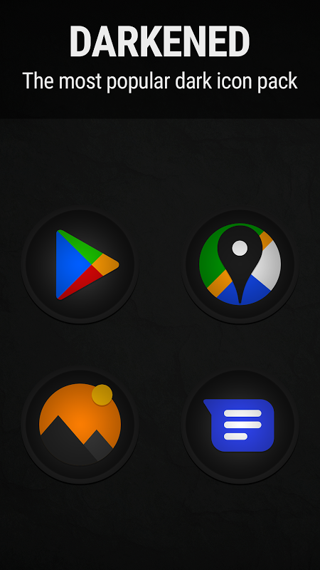 Stealth Icon Pack The App Store