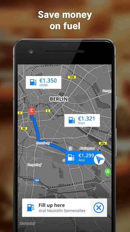 Screenshot GPS Navigation & Maps Sygic APK