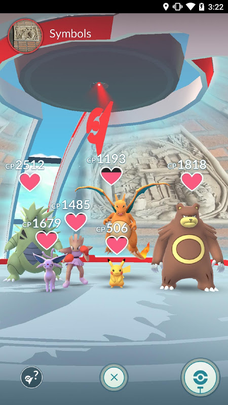 Screenshot Pokémon GO APK