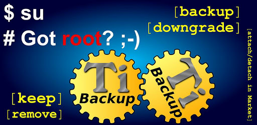 Titanium Backup ★ root needed
