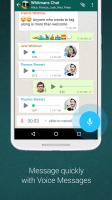 WhatsApp Messenger Screen