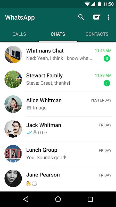 Screenshot WhatsApp Messenger APK