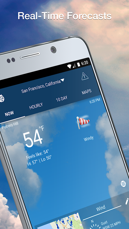 Weather Elite by WeatherBug The App Store android Code Lads