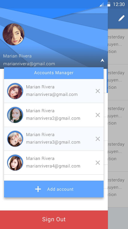 Screenshot Email Pro APK