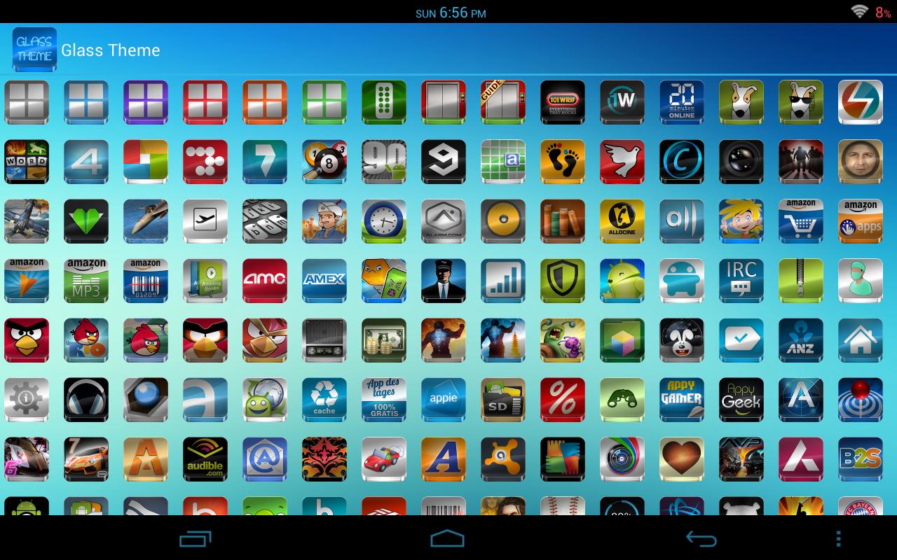 GLASS APEXNOVAGOSMART THEME The App Store