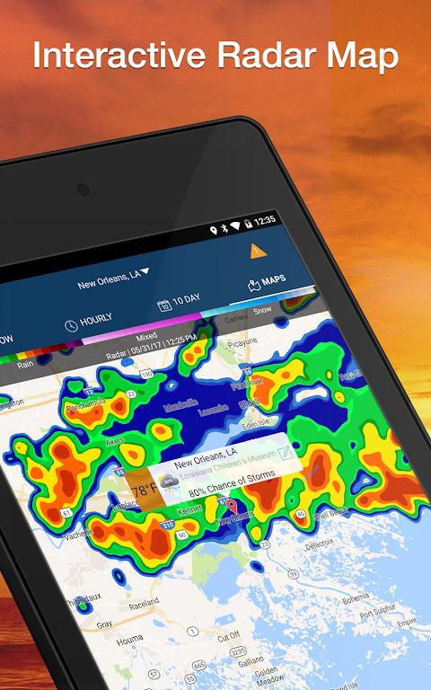 Screenshot Weather Elite by WeatherBug APK