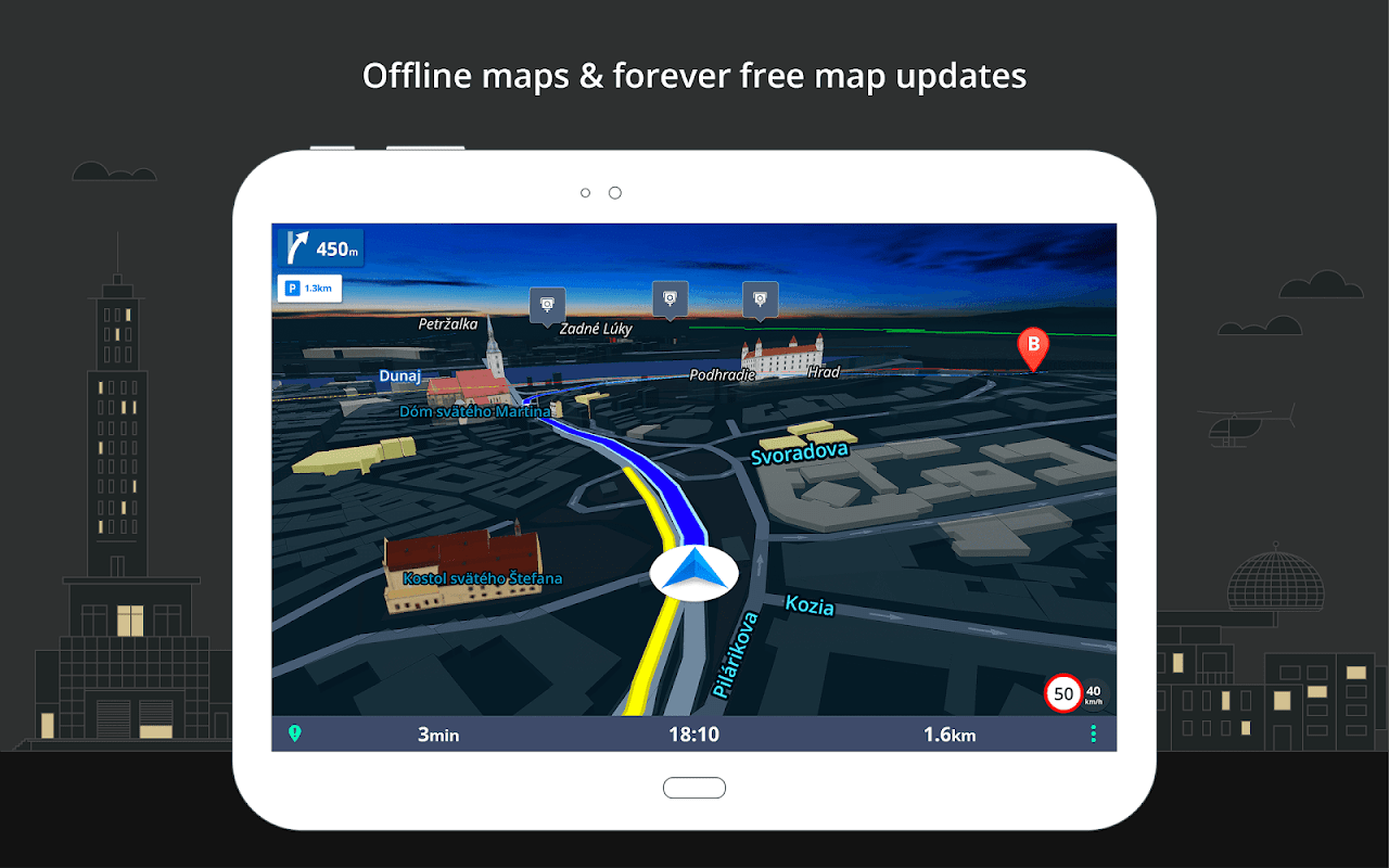 Sygic GPS Navigation & Maps The App Store android Code Lads