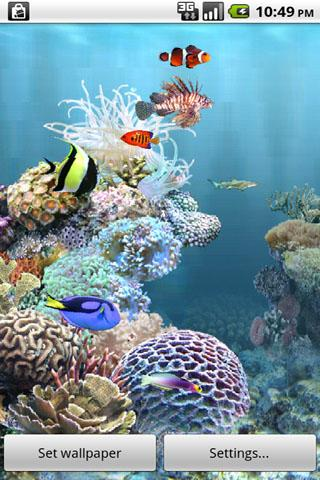 aniPet Aquarium Live Wallpaper The App Store android Code Lads